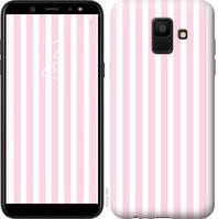 Чехол Endorphone на Samsung Galaxy A6 2018 Полоска 2553c-1480-18675 (2553-1480F)