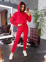 Женский спортивный костюм Карго весна-осень (S/M, M/L) (цвет красный) СП