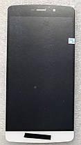 Модуль (сенсор + дисплей) для TP-Link Neffos C5 MAX (TP702A) белый, фото 3