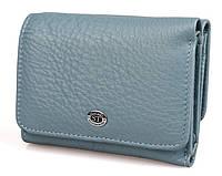 Жіночий шкіряний гаманець (4031) голубий, фото 1