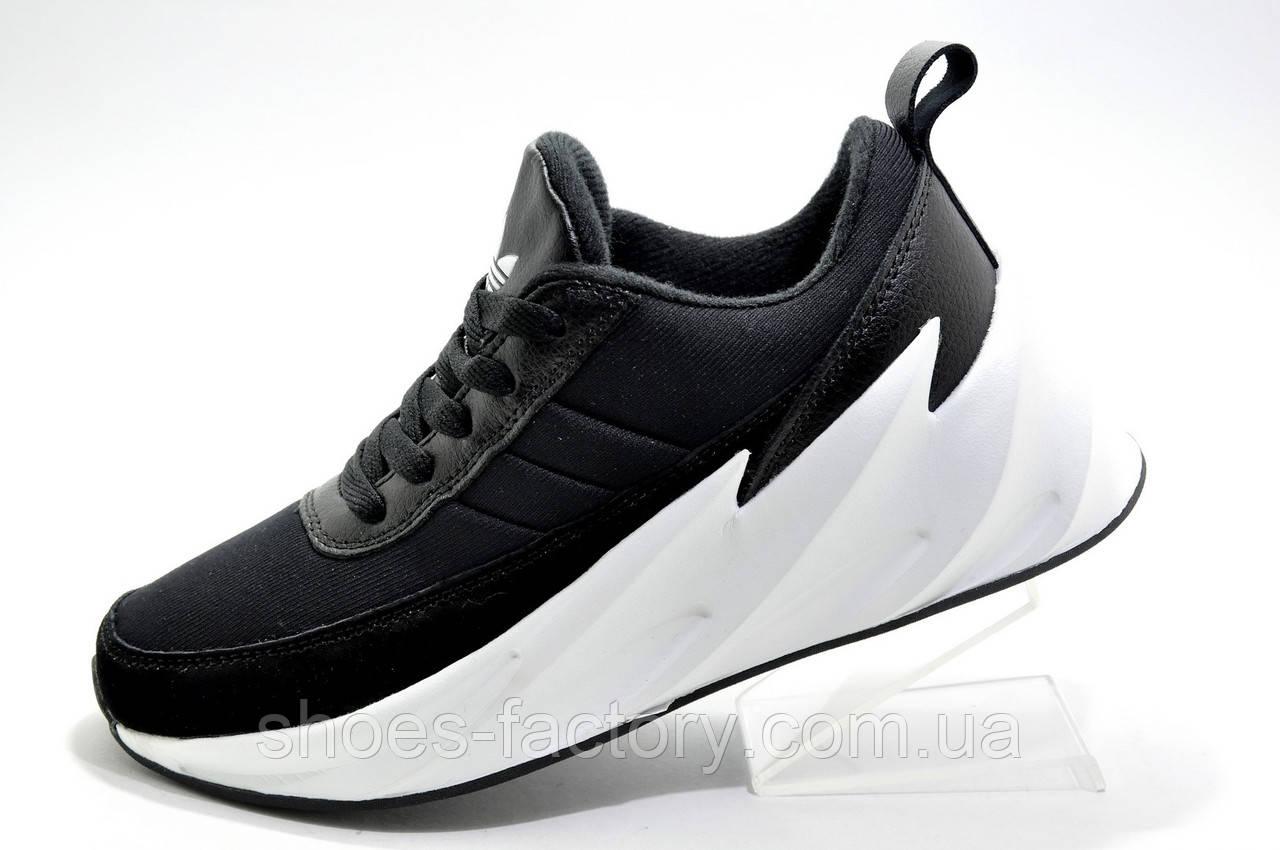 Женские кроссовки в стиле Адидас Sharks, Black\White