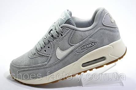 Кроссовки женские в стиле Nike Air Max 90, Gray\White, фото 2