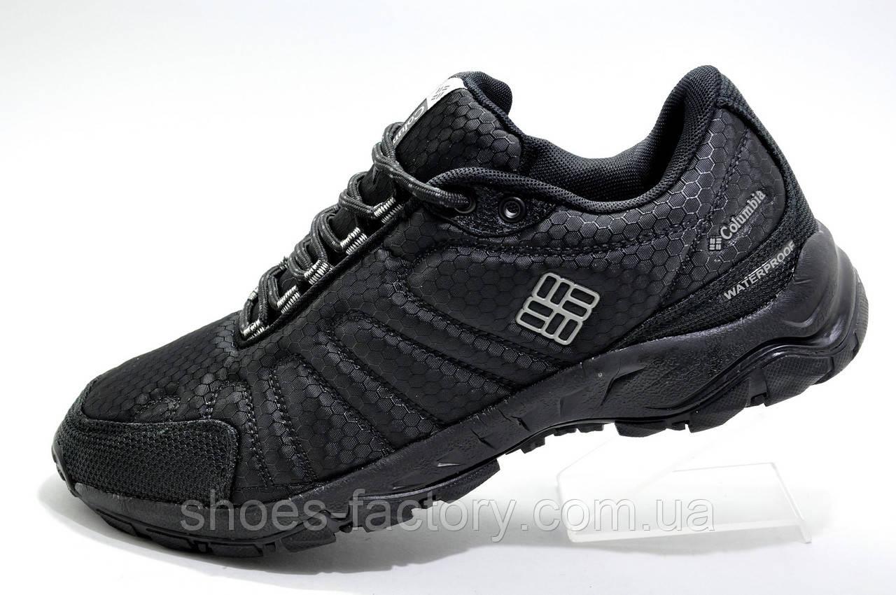 Мужские кроссовки в стиле Коламбия Waterproof, Black (Firecamp 2)