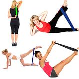 Фитнес резинки для фитнеса 5 шт + чехол , набор лент-эспандеров для фитнеса, петли сопротивления, Товары для, фото 6