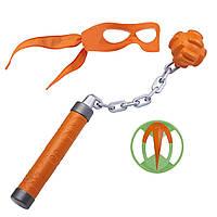 Набор игрушечного оружия TMNT серии Эволюция Черепашек-Ниндзя - снаряжение Микеланджело (82053)