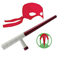 Набор игрушечного оружия TMNT серии Эволюция Черепашек-Ниндзя - снаряжение Рафаэля (82054)