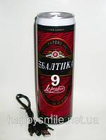 """Необычная банка пива """"Балтика 9"""" с радиоприемником и МР3 плеером"""