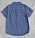 Детская рубашка для мальчика с коротким рукавом р. 116см, 128см(Glo-Story, Венгрия), фото 5