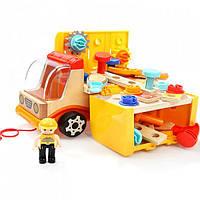 Машина-грузовик передвижная мастерская/ набор инструментов 120312 TOP BRIGHT