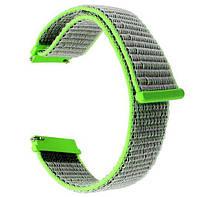 Нейлоновый ремешок для часов Huawei Watch GT / GT Active 46mm - Green, фото 1