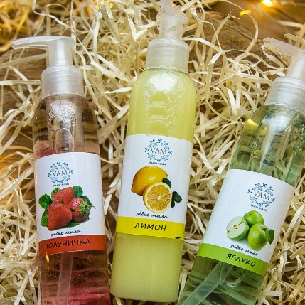 Жидкое мыло ручной работы Лимон