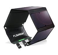Солнечное зарядное устройство Floureon 5V 28W 3*USB - солнечная панель, четыре секции