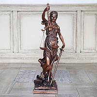 Статуэтка Фемида 72 см полистоун бронзовый