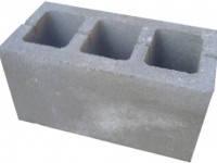 Строительный  блок (шлакоблок) 200-200-400