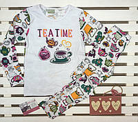 Пижама детская хлопковая ТМ Фламинго