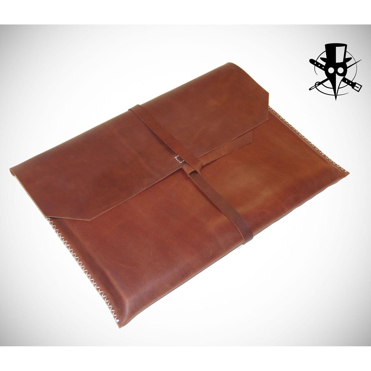 Чехол для ноутбука из натуральной кожи