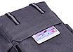 Рюкзак городской Dz Серый с usb выходом, фото 6