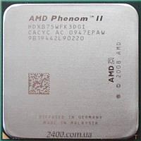 Процессор AMD Phenom II X3 B75 3.0 GHz/2000MHz (HDXB75WFK3DGI / HDXB75WFK3DGM) Socket AM3/AM2+ 95W