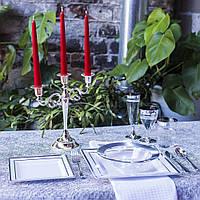 Одноразовая премиум посуда «Capital For People» для праздников 96 шт. 6 персон