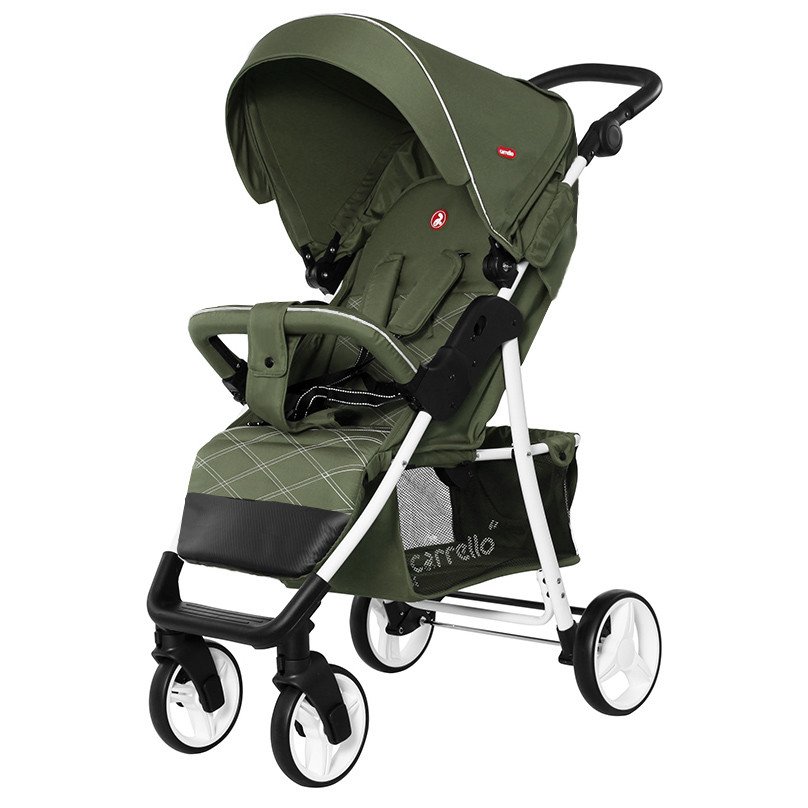 Прогулочная коляска CARRELLO Quattro c дождевиком /Mint Green (2020)