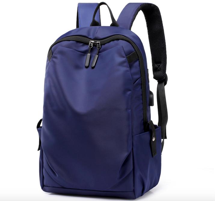 Рюкзак чоловічий міської Casual Синій з usb виходом