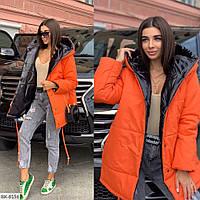 Женская  куртка- парка в разных цветах есть большие размеры