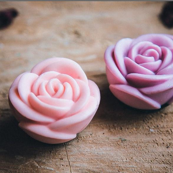 Мыло ручной работы Роза волыни, мыльная роза