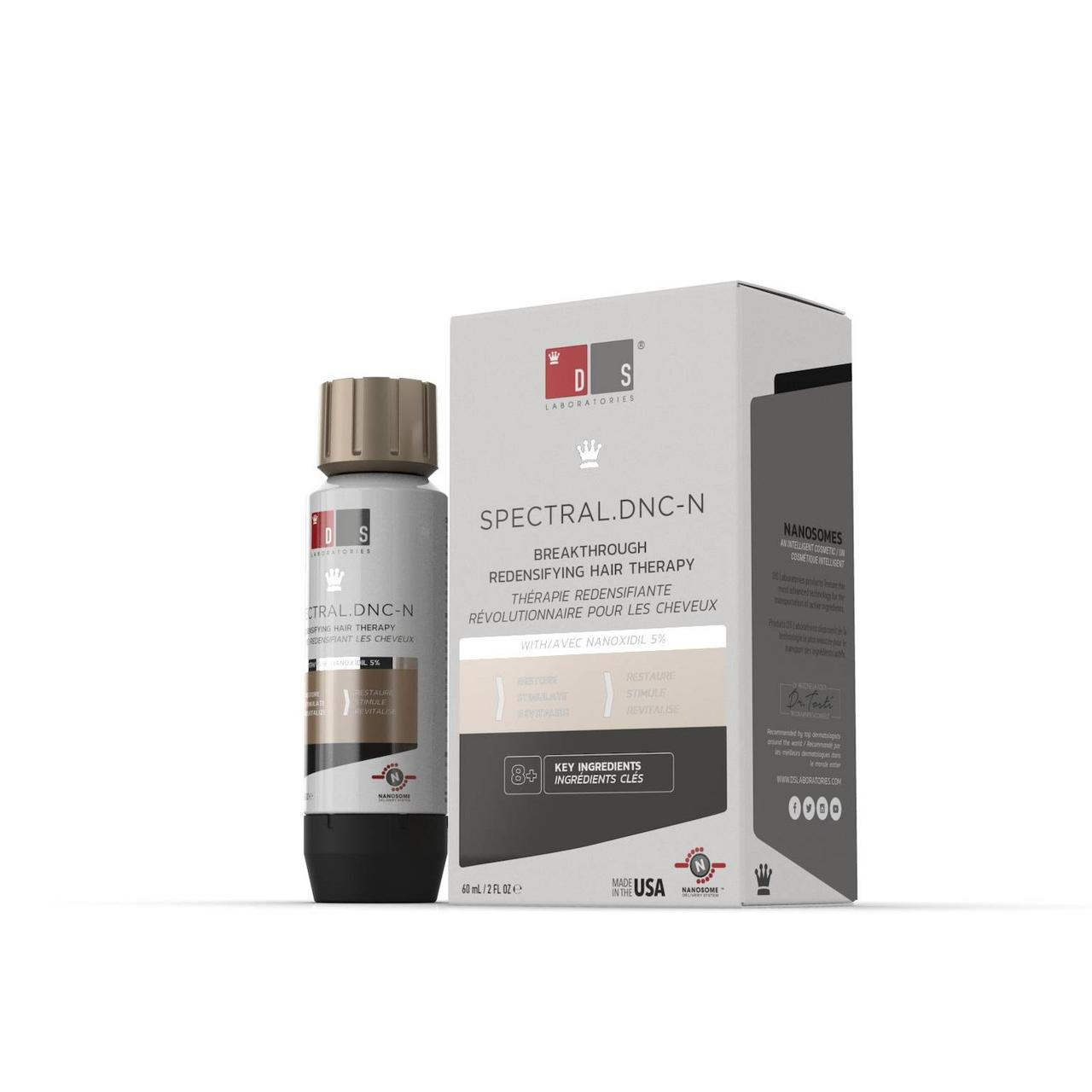 Лосьон для роста волос Наноксидил Spectral DNC-N 5%, DS Laboratories