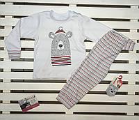 "Пижама для мальчика ТМ ""Фламинго"" хлопковая"