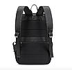 Рюкзак міський Casual Чорний з usb виходом, фото 9