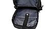 Рюкзак міський Casual Чорний з usb виходом, фото 10