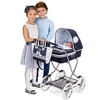 Игрушечная коляска для куклы с сумкой Decuevas  90 см