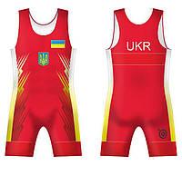 ТРИКО СБОРНОЙ УКРАИНЫ UWW UKRAINE RED 2016