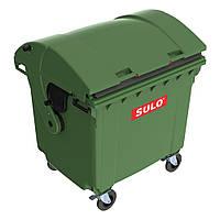 Пластиковый мусорный контейнер со сферической крышкой, Sulo, Германия