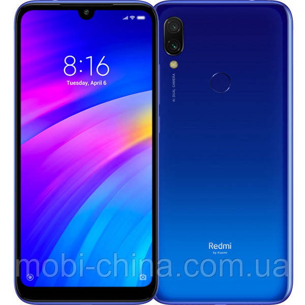 Смартфон Xiaomi Redmi 7 3 64Gb  EU blue