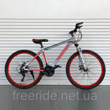 "Горный велосипед Toprider ""424"" 26 (17 рама) alloy, фото 2"