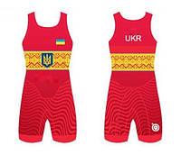 ТРИКО ЗБІРНОЇ УКРАЇНИ UWW UKRAINE RED 2017, фото 1