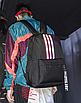 Рюкзак молодежный Black светоотражающий, фото 2