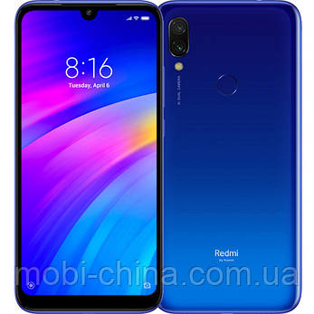 Смартфон Xiaomi Redmi 7 4 64Gb  blue EU, фото 2