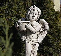 Садовая фигура Ангел с цветочным горшком 30x23x61cm