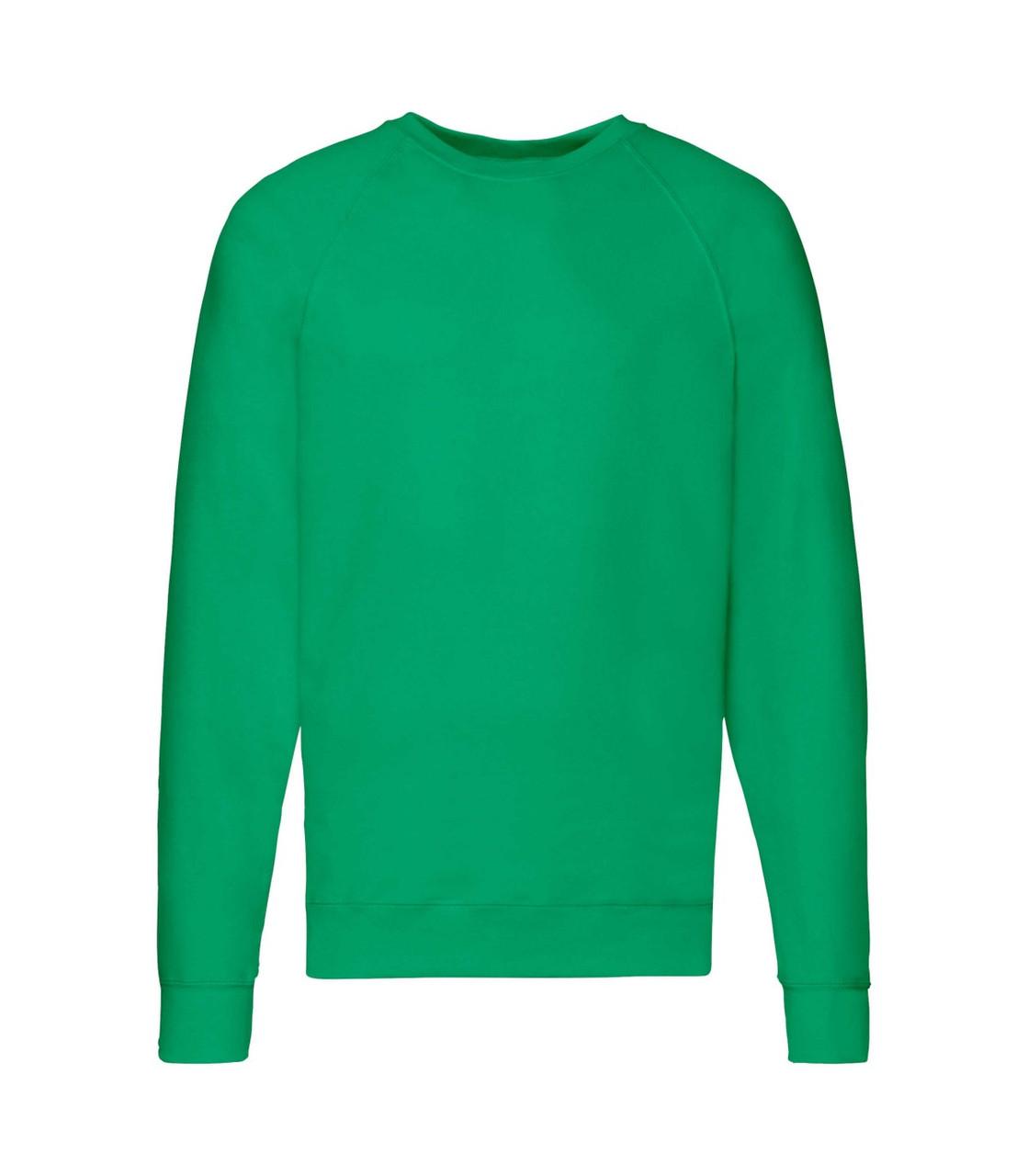 Мужской свитшот легкий зеленый 138-47