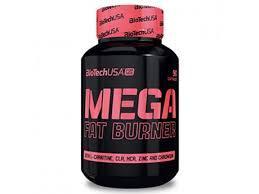 Жиросжигатель для девушек Biotech Mega Fat Burner 90caps