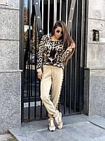 Костюм вязаный Леопард
