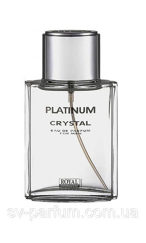 Туалетная вода мужская Platinum Crystal 100ml Тестер