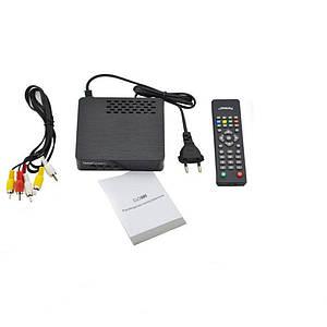 Тюнер DVB-T2 2058 Metal, Ресивер эфирный цифровой