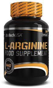Аргинин Biotech L-Arginine 90caps