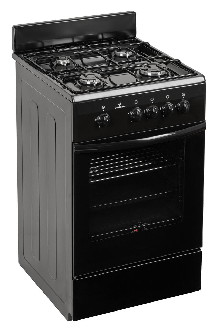 Плита газовая Greta 1470-00-17 Черный