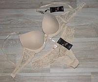 Комплект женского белья бюст+стринги арт 71290-2,на корректоре  ,чашка 75В, фото 1