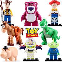 Фигурки История игрушек Toy Story лего Lego Базз Лайтер Шериф Вуди