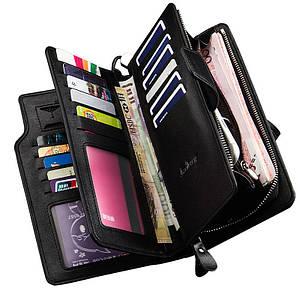 Мужской клатч, портмоне, кошелек Baellerry Business S1063